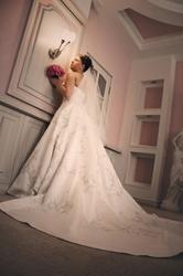 Продам шикарное свадебное платье Бенджамина Робертся (BR 908)