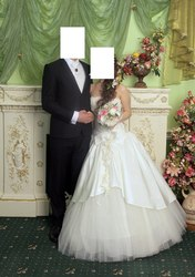 Продам красивое свадебное платье цвета шампань Иваново