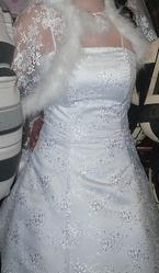 Продам свадебное платье.размер 44/46.цена 8000