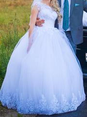 Свадебное платье «Трюфели»