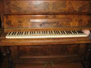 Продам старинное пианино, 19 век